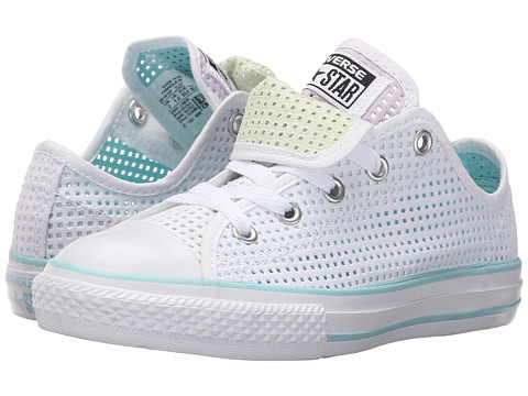 Converse Kids Chuck Taylor® All Star® Double Tongue Ox (Little Kid/Big Kid)