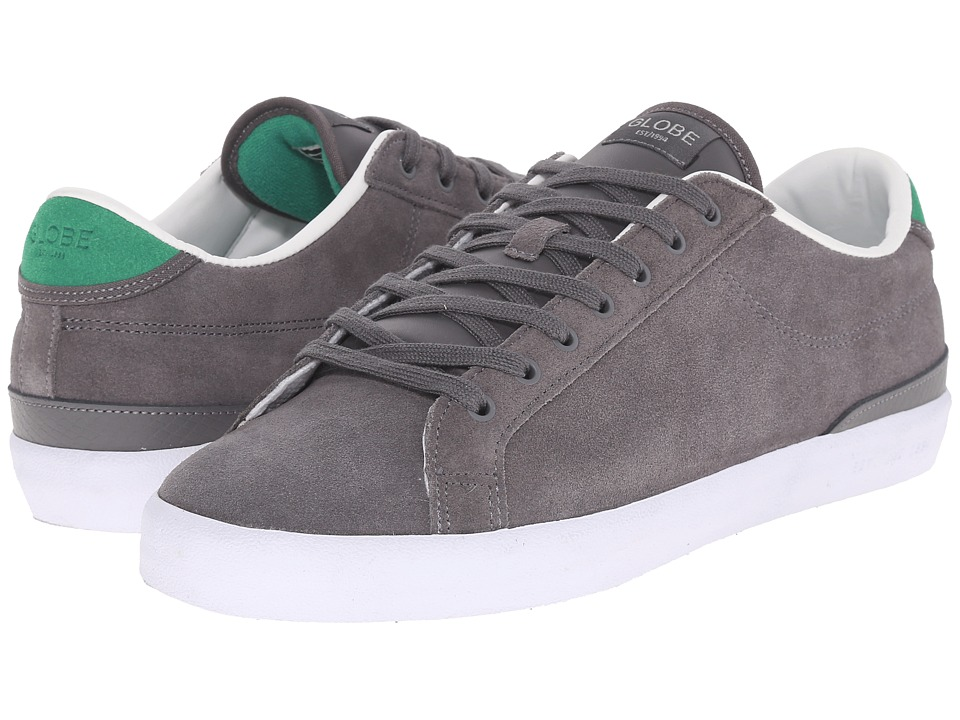 Globe - Status (Charcoal/Green Shaved Suede) Men