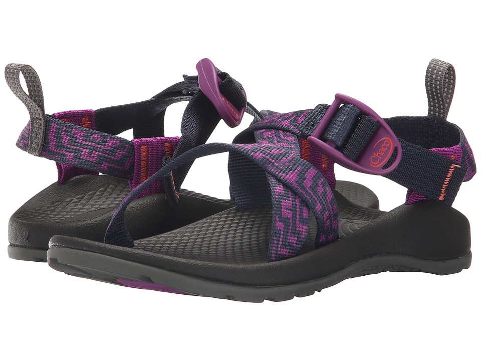 Chaco Kids Z/1 Ecotread Toddler/Little Kid/Big Kid Violet Knit Girls Shoes