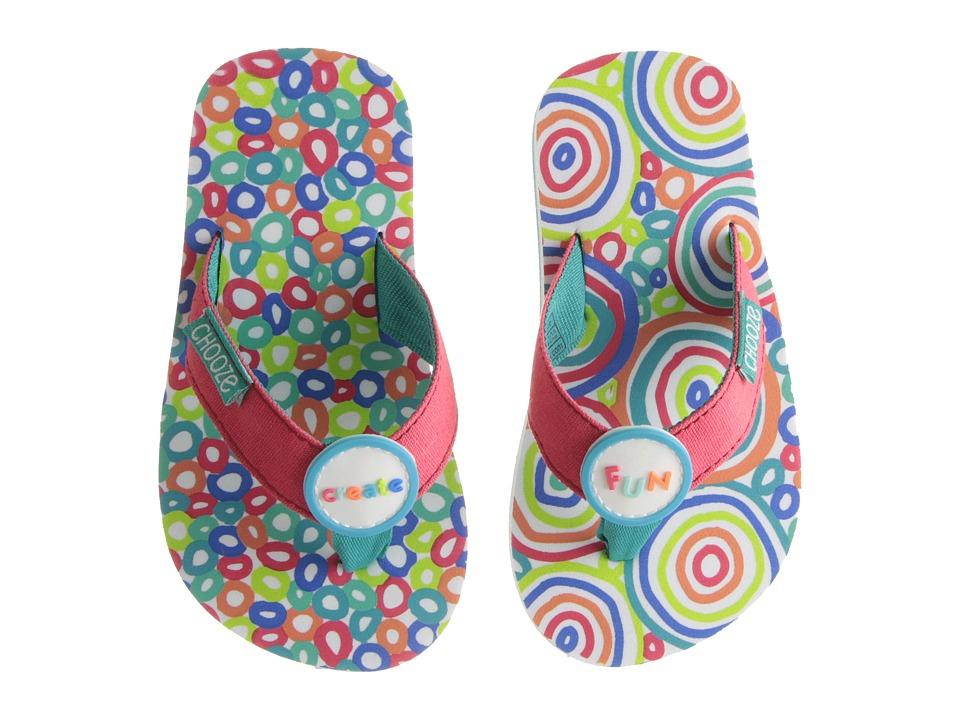 CHOOZE Chill Toddler/Little Kid Abundance Girls Shoes