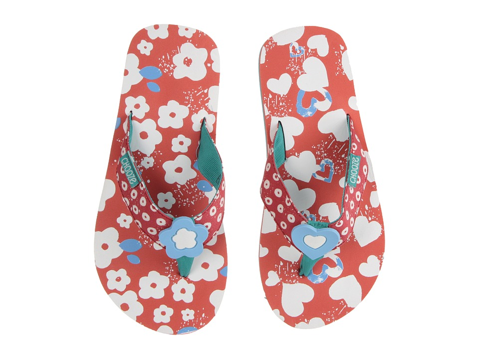 CHOOZE Chill Toddler/Little Kid Bloom Girls Shoes