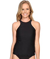 Speedo - Solid High Neck Tankini