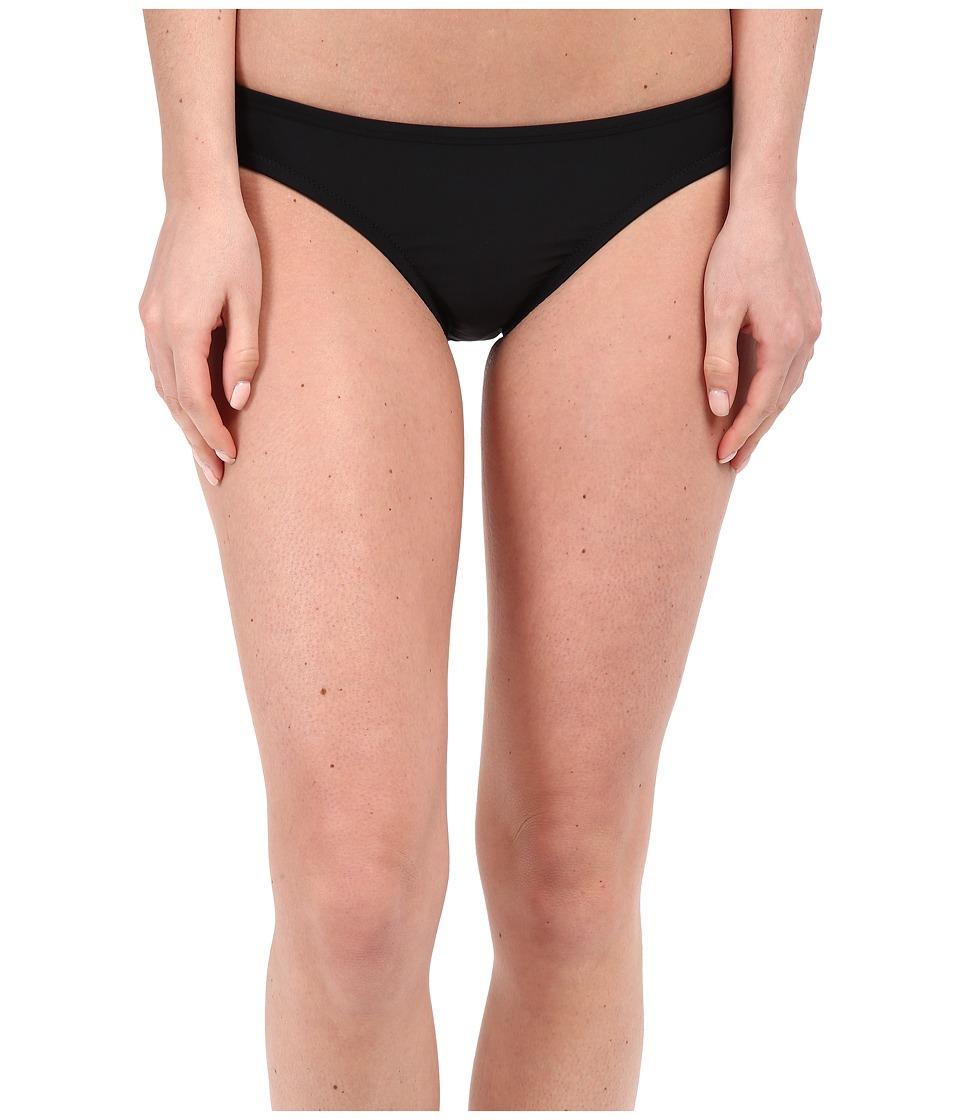 Speedo - Solid Hipster Bottom (Speedo Black) Womens Swimwear