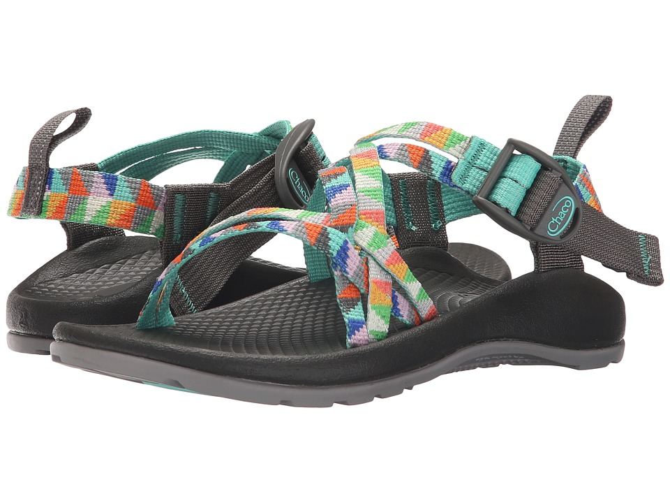 Chaco Kids - ZX/1 Ecotread (Toddler/Little Kid/Big Kid) (Camper Turquoise) Girls Shoes