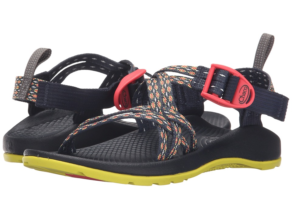 Chaco Kids - ZX/1 Ecotread (Toddler/Little Kid/Big Kid) (Crest Citrus) Girls Shoes