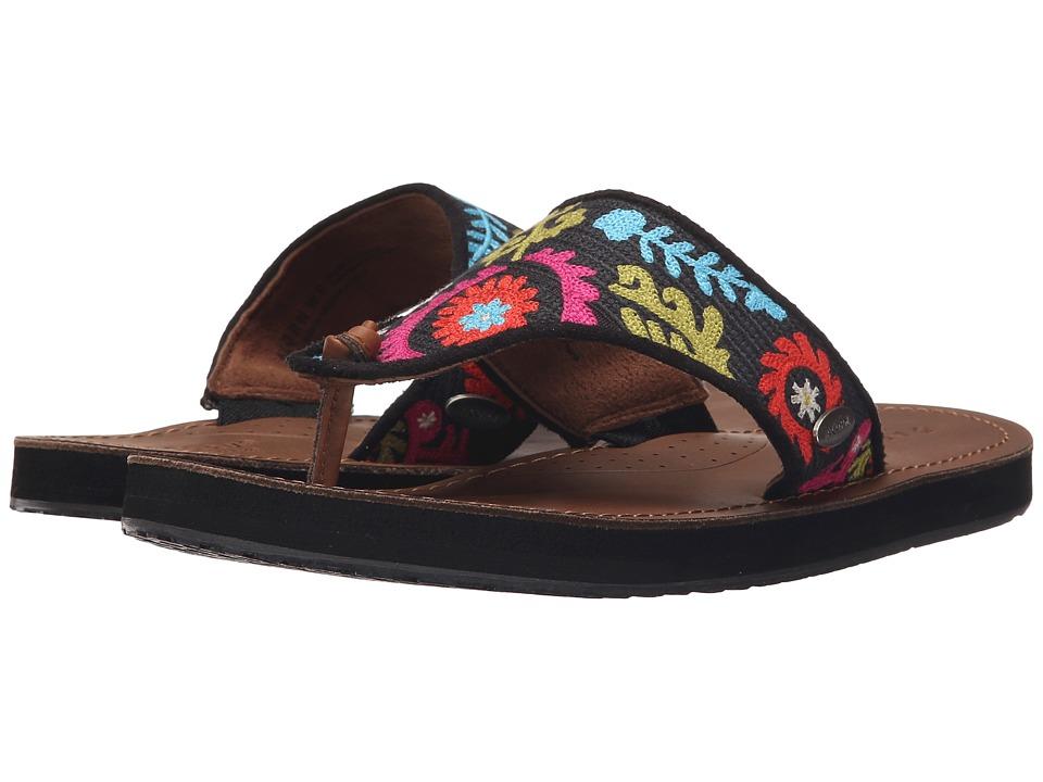 Image of Acorn - ArtWalk Leather Flip (Multi Suzani) Women's Sandals