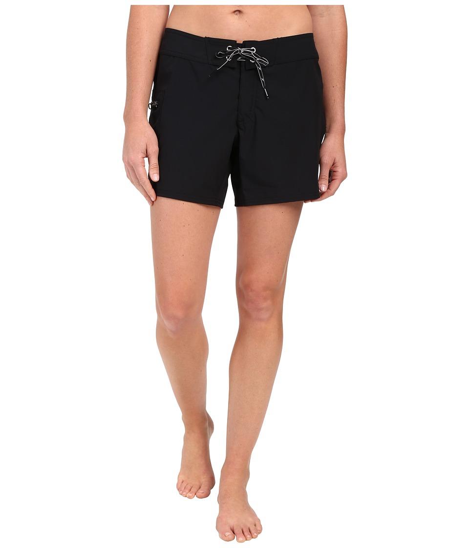 Speedo 4-Way Stretch Boardshorts (Speedo Black) Women
