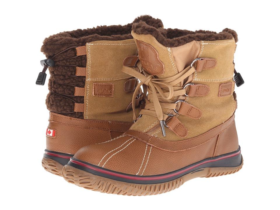 Pajar CANADA Iceland Cognac/Tan Womens Boots
