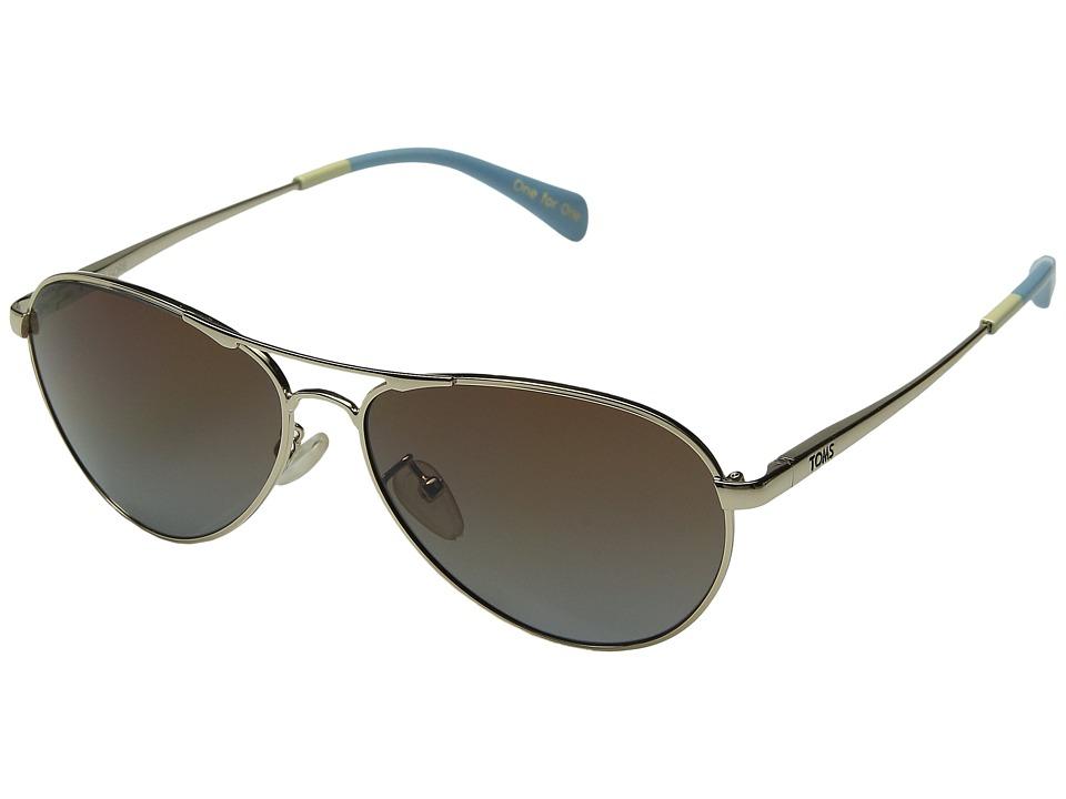 TOMS - Kilgore (Gold) Fashion Sunglasses
