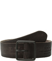 John Varvatos - 38mm Burnished Veg Tanned Leather Belt