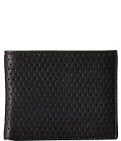 John Varvatos - Perforated Slim Fold Wallet