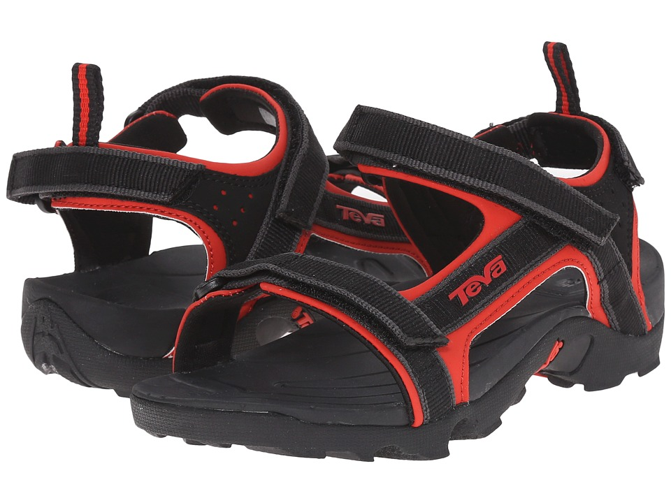 Teva Kids Tanza Little Kid/Big Kid Black/Red Boys Shoes