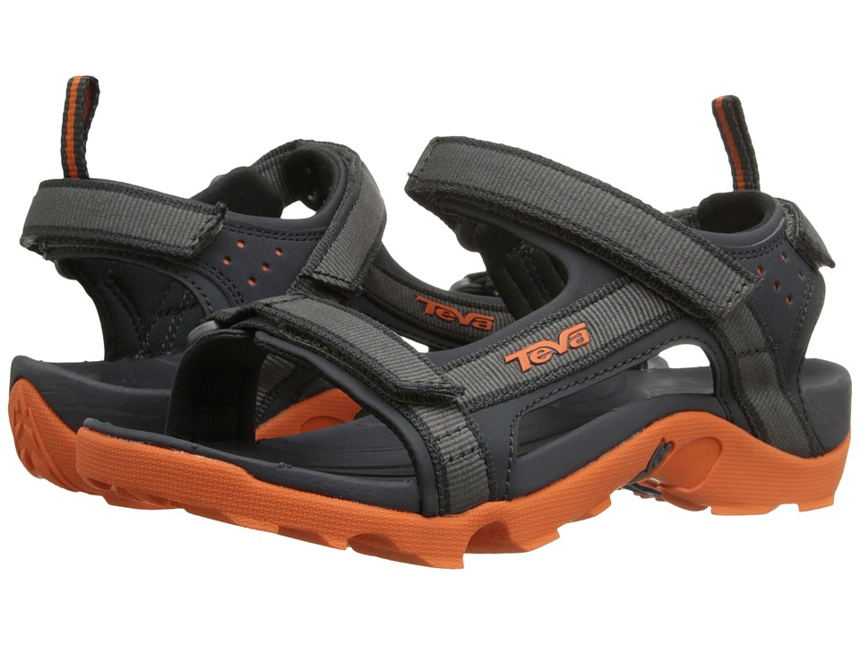 Teva Kids - Tanza (Little Kid/Big Kid) (Grey/Orange) Boys Shoes