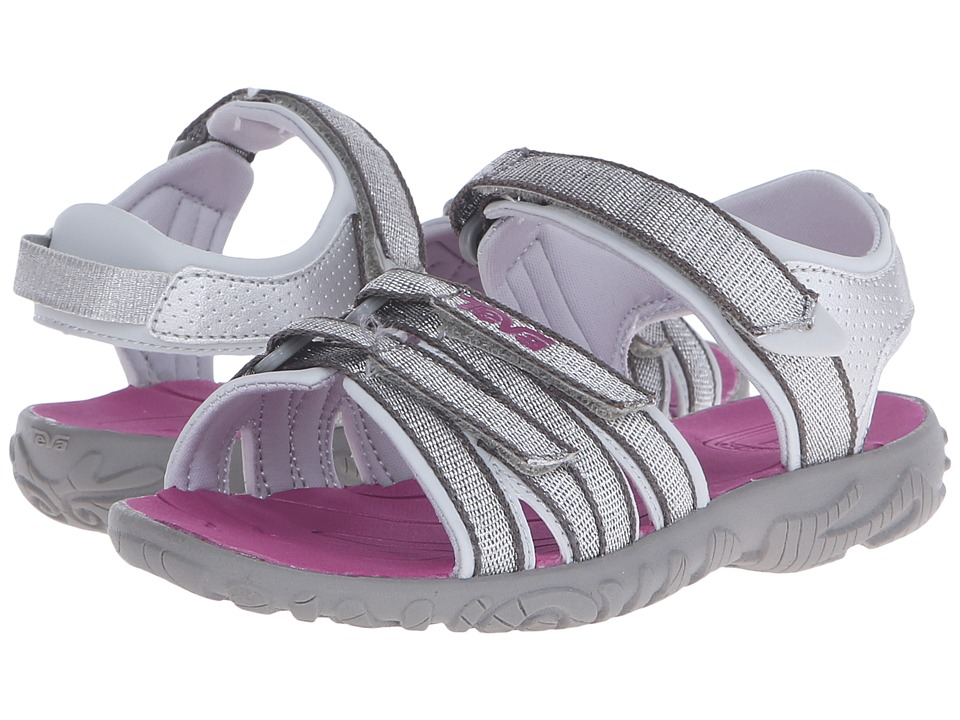 Teva Kids - Tirra (Toddler/Little Kid/Big Kid) (Silver/Ma...