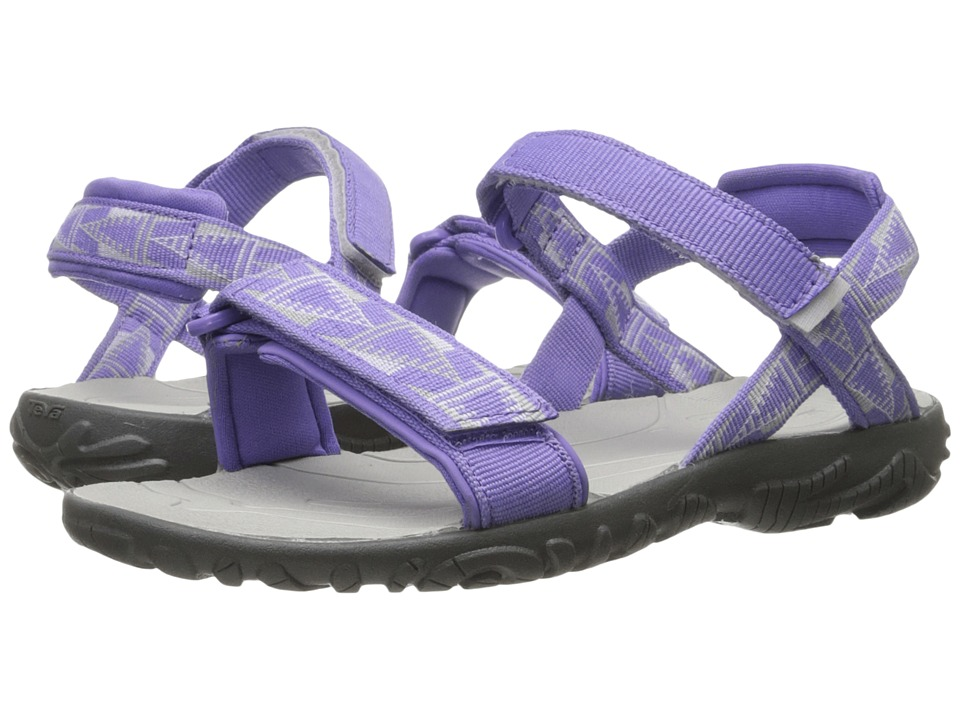 Teva Kids Nova (Little Kid/Big Kid) (Purple/Grey) Girls Shoes