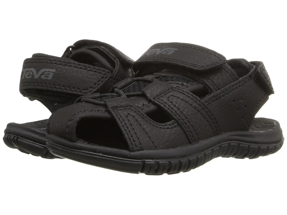 Teva Kids Bayfront Toddler Black Boys Shoes