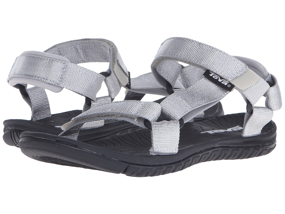 Teva Kids Hurricane 3 Little Kid/Big Kid Silver Metallic Girls Shoes
