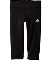 adidas Kids - Gym Solid Capris (Big Kids)