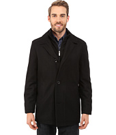 Nautica - Four Button Wool Melton Coat