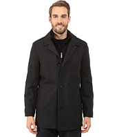 Nautica - Four Button Wool Herringbone Coat
