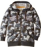 Pumpkin Patch Kids - Street Warrior Camo Print Zip-Up Sweater (Little Kids/Big Kids)