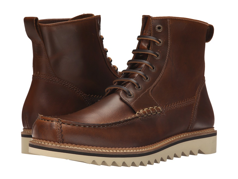 Wolverine Driscoll 6 Brown Leather Mens Work Boots