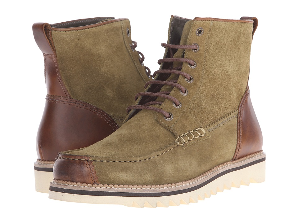 Wolverine Driscoll 6 Olive Suede Mens Work Boots