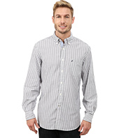 Nautica - Long Sleeve Oxford Stripe