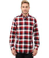 Nautica - Long Sleeve Oxford Buff Plaid