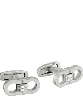 Salvatore Ferragamo - Double Gancini Cufflinks