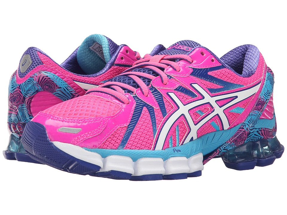ASICS Gel-Sendai 3 (Hot Pink/White/Turquoise) Women
