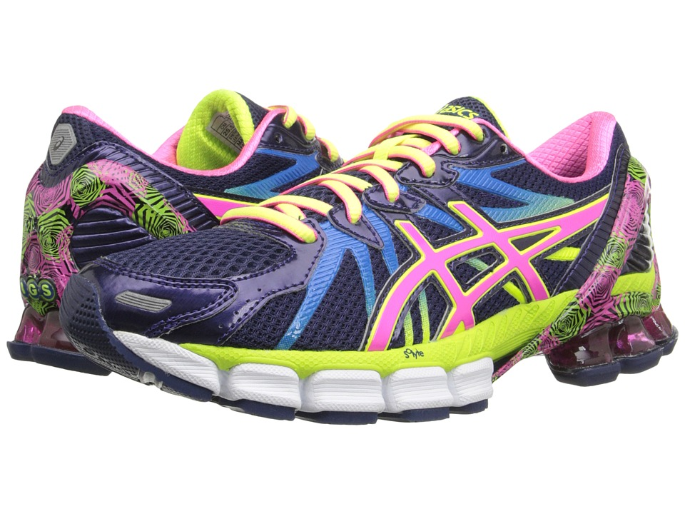 ASICS Gel-Sendai 3 (Blue Purple/Pink/Flash Yellow) Women