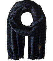 Scotch & Soda - Chunky Boucle Yarn Scarf in Graphic Pattern