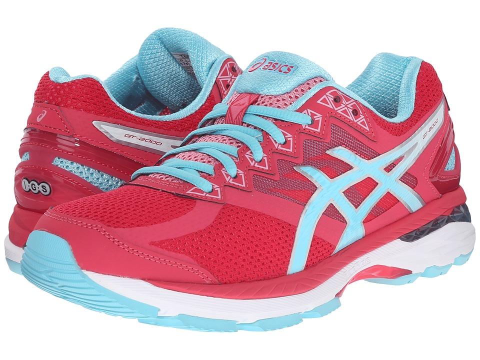 ASICS - GT-2000 4 (Azalea/Turquoise/White) Womens Running Shoes