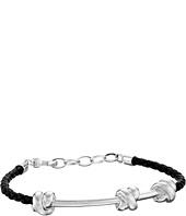 Salvatore Ferragamo - Sterling Silver Knot Bracelet