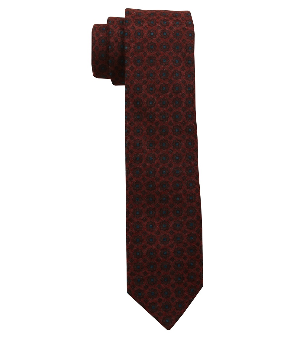 Scotch amp Soda Woolen Gentlemens Tie Brick Ties
