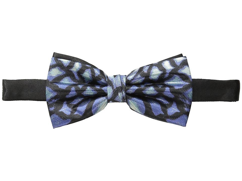 Scotch amp Soda Satin Weave Bowtie Blue/Black Ties