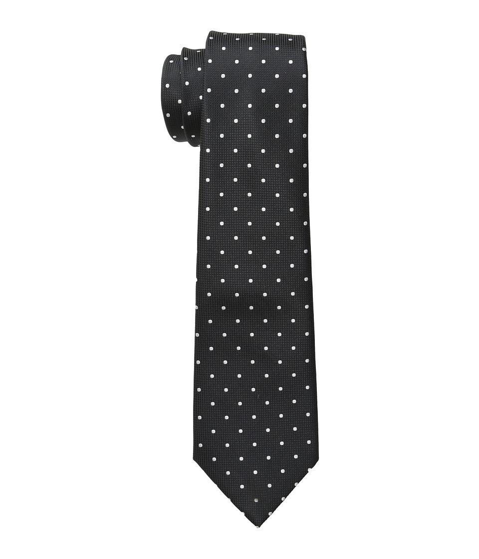 Scotch amp Soda Satin Weave Gentlemens Tie Black Ties