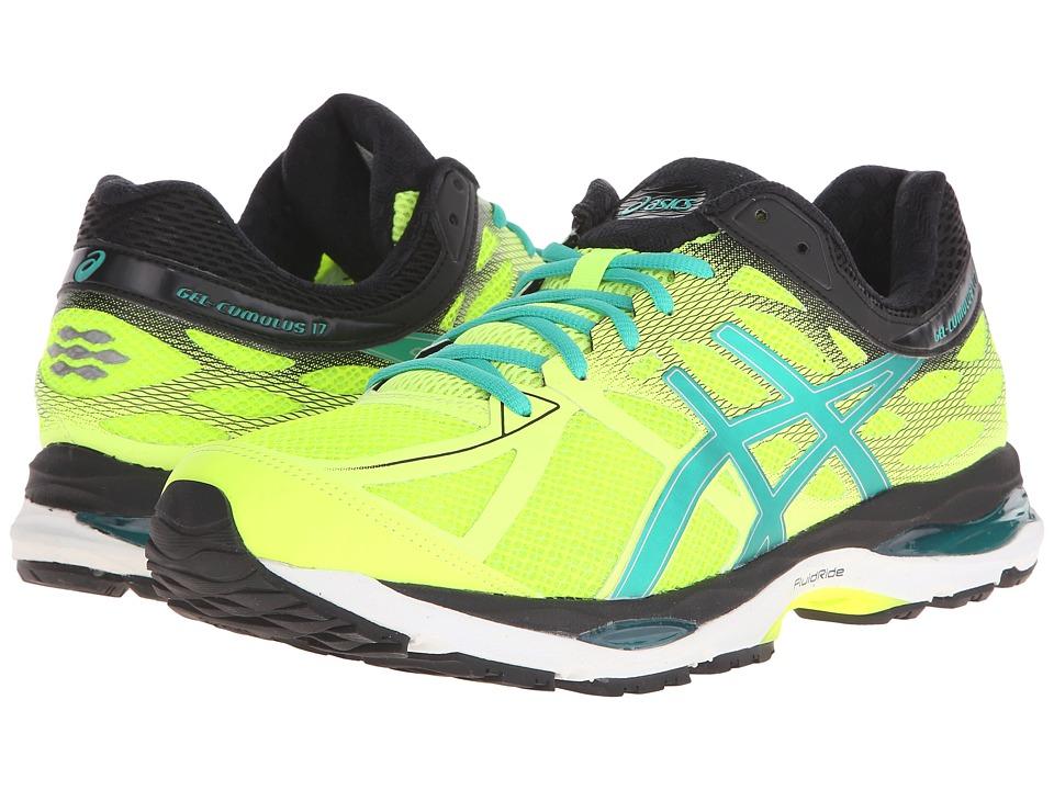 ASICS Gel Cumulus 17 Flash Yellow/Pine/Black Mens Running Shoes