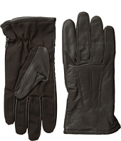 Scotch & Soda - Leather Glove with Canvas Part