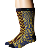 Scotch & Soda - Classic Socks in Fun Pattern - 2-Pack