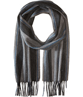 Salvatore Ferragamo - Striped Signature Cashmere Scarf