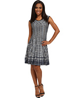 NIC+ZOE - Petite Checked Out Twirl Dress