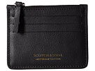 Leather Credit Card Holder with Zip
