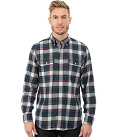 Nautica - Long Sleeve Brush Twilight Medium Plaid