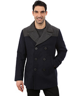Nautica - Color Block Wool Peacoat