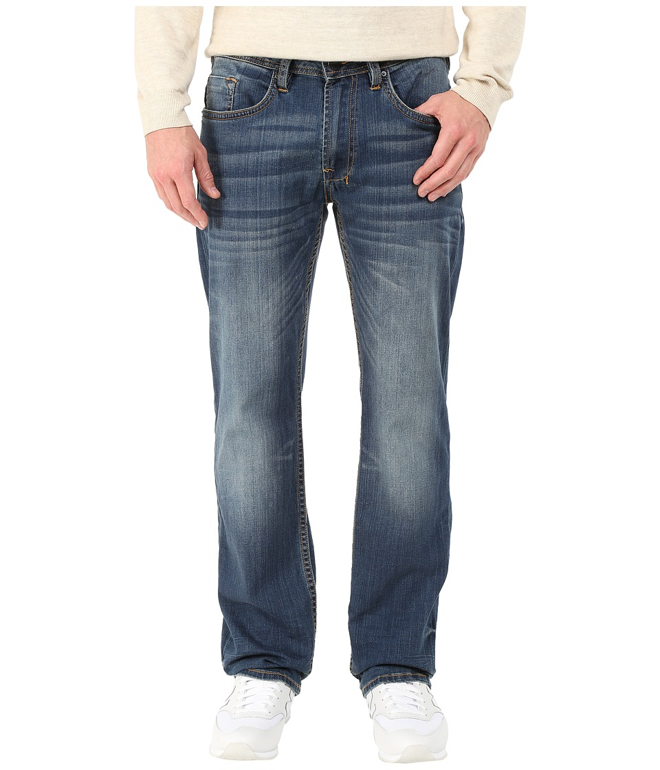 Buffalo David Bitton Driven Straigh Leg Jeans Morelia in Naturally Sanded and Scratch Naturally Sanded/Scratch Mens Jeans