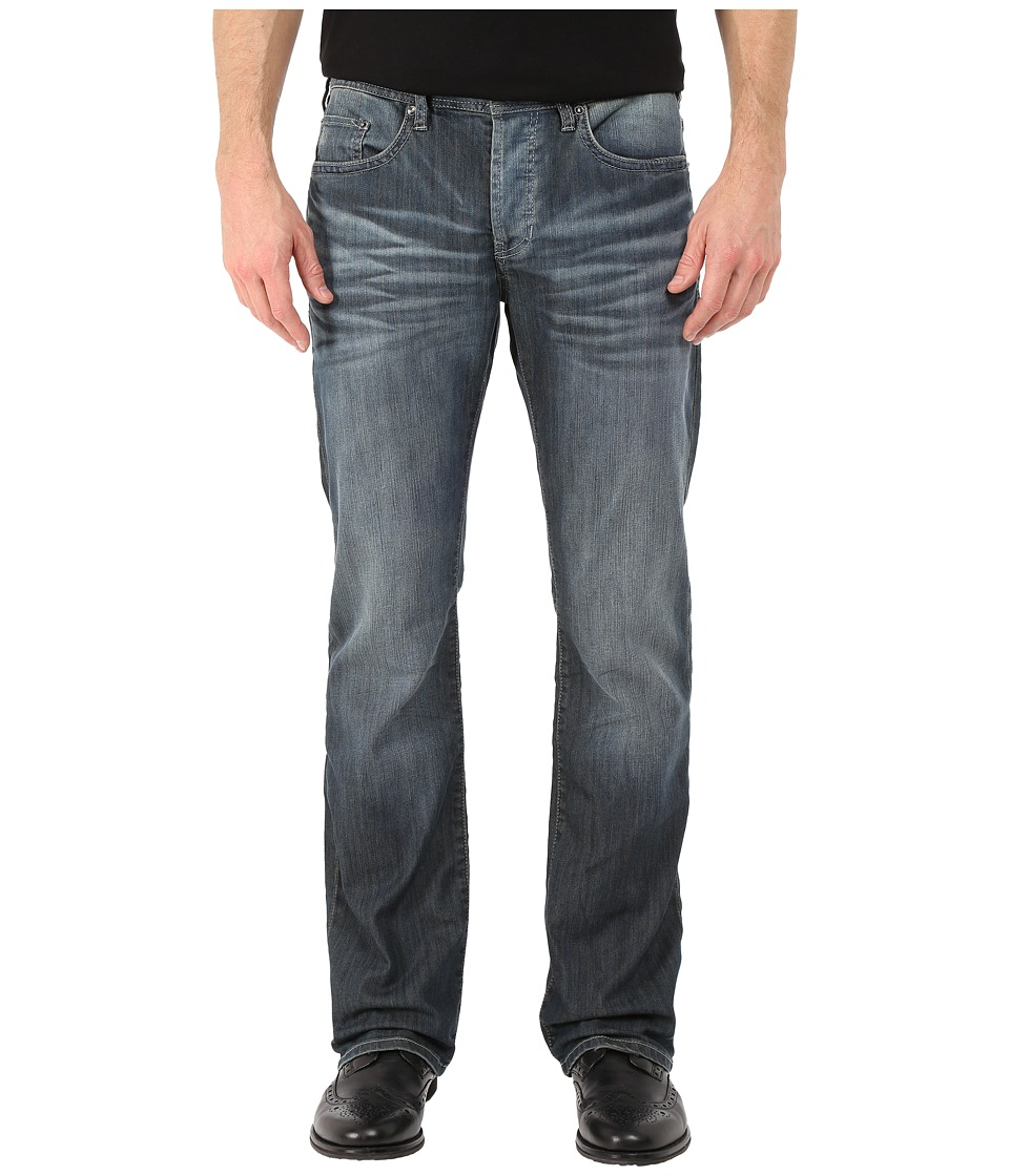 Buffalo David Bitton King Slim Bootcut Jeans Ventura in Distress Wash Distress Wash Mens Jeans