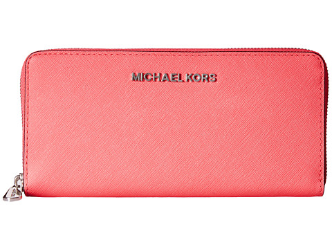 MICHAEL Michael Kors Jet Set Saffiano Travel ZA Continental
