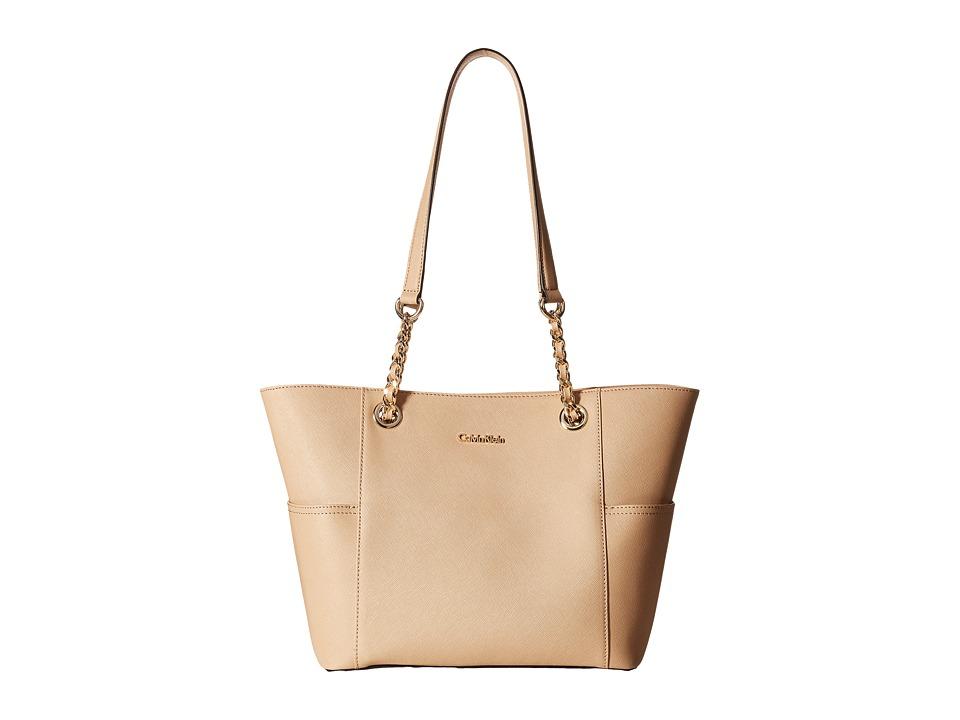 Calvin Klein - Key Items H3DA11HU (Nude) Tote Handbags